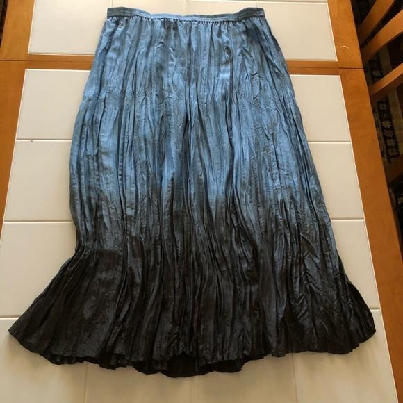 ddd1e29f398 Garnet Hill Dresses   Skirts - Silk broom skirt